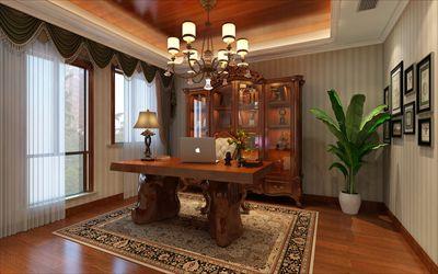 颐和南园380平方别墅装修设计|简美风格