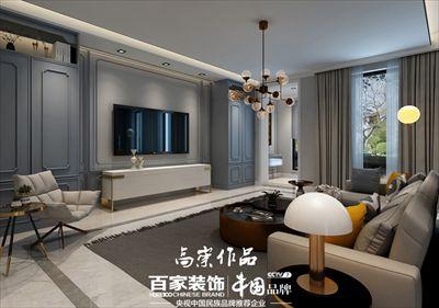 中铁香湖147平北欧风格半包6.5万