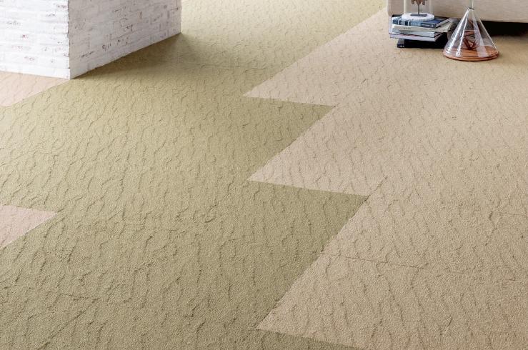 供应日本进口山月防污方块地毯 DT 4401-4402