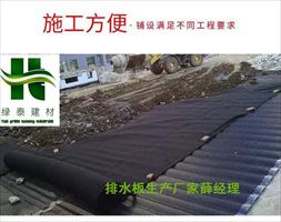 邵阳丨长沙1.5公分2公分车库底板专用排水板