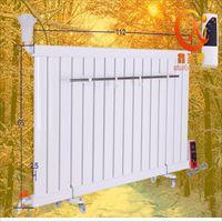 壁挂式钢制暖气片1860*75*60mm 家用真空超导暖气片