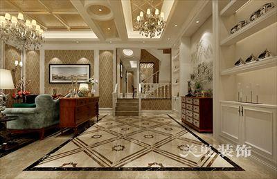 郑州龙湖锦艺城洋房158平四室装修古典风大气富贵