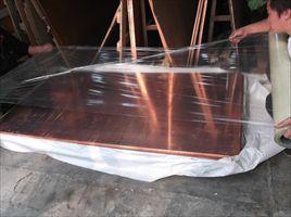 洛阳T2高精紫铜板 半硬光面紫铜板