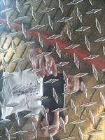 温州1060指针型铝板 压花光亮面花纹铝板