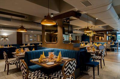 1940复古主题餐厅设计案例