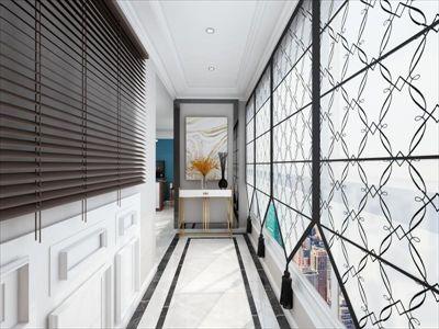 咸阳城市人家锦丽花语130平现代设计案例