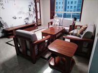 中海长安府138平米实木家具