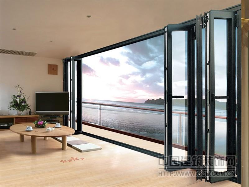 折叠门窗 品质上乘 拓邦门窗