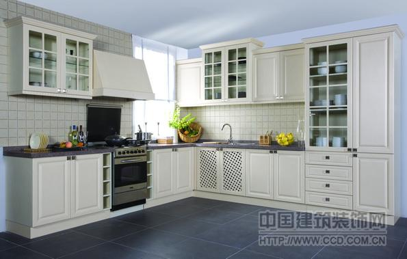 天津橱柜厂家 定制实木橱柜整体厨房 酒柜吧台
