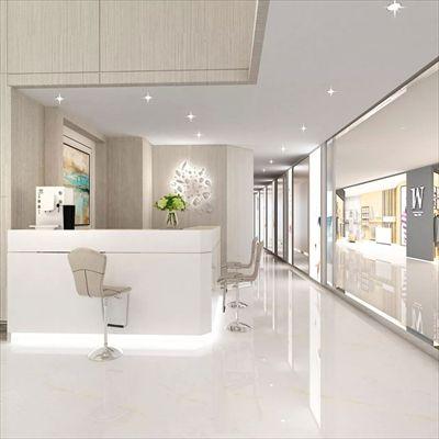 美容院装修设计案例上海美容院装潢设计