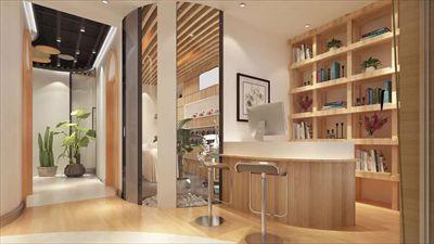 新美容院装修设计案例 上海美容院装修设计