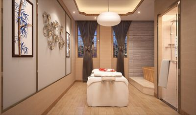上海新美容院装修案例上海美容院装修哪家好