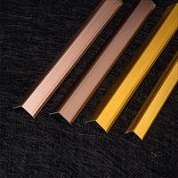 佛山铝合金瓷砖护角线条峰帆墙角防撞装饰线条