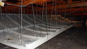 GRG材料吊顶  GRG施工  大剧院GRG材料吊顶装饰板