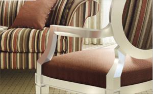 供应日本进口山月沙发布软包布椅子张 UP-2007