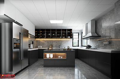 鲁能泰山7号院175平方米|现代台式风格