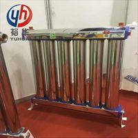 600*10不锈钢耐用型散热器安装方法  —裕华采暖