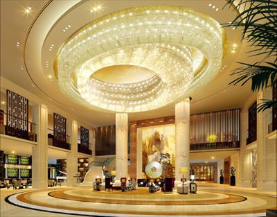 君悅大酒店2000平裝修設計