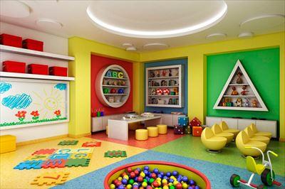 350平幼兒園裝修設計