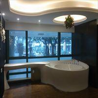 白色人造石一体式浴缸