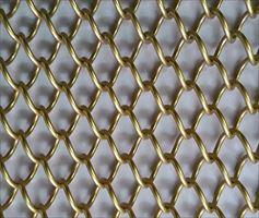 金属螺旋垂帘  金属装饰网