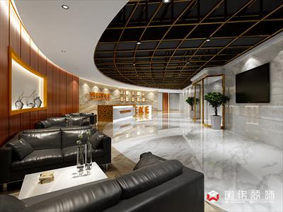 深圳市杰科律师事务所办公室装修设计