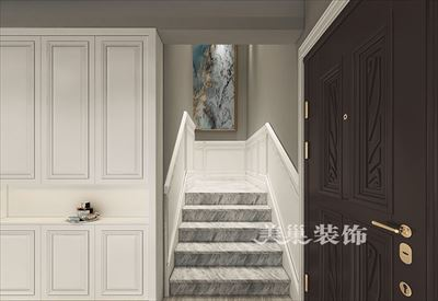 郑州碧桂园龙城320平装修后现代别墅设计方案