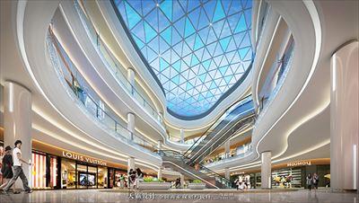 创新乌鲁木齐购物中心设计就在天霸设计