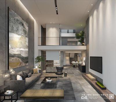 大思设计未来空间 海逸一号复式私宅