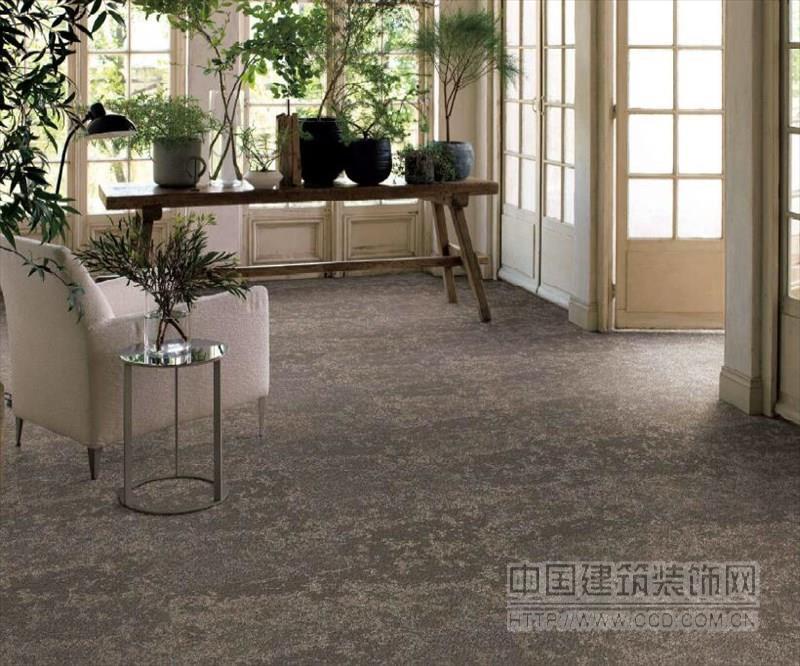 日本进口山月防污家用方块地毯