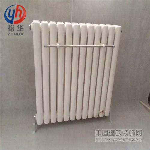 Gz206大棚钢管二柱暖气片(家用,商场,工业)-裕华采暖
