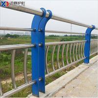 迅鼎水库岸边围栏 不锈钢桥梁护栏 水库岸边用围栏