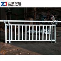 迅鼎沙道防护栏杆 不锈钢桥梁护栏 沙道用防护栏杆