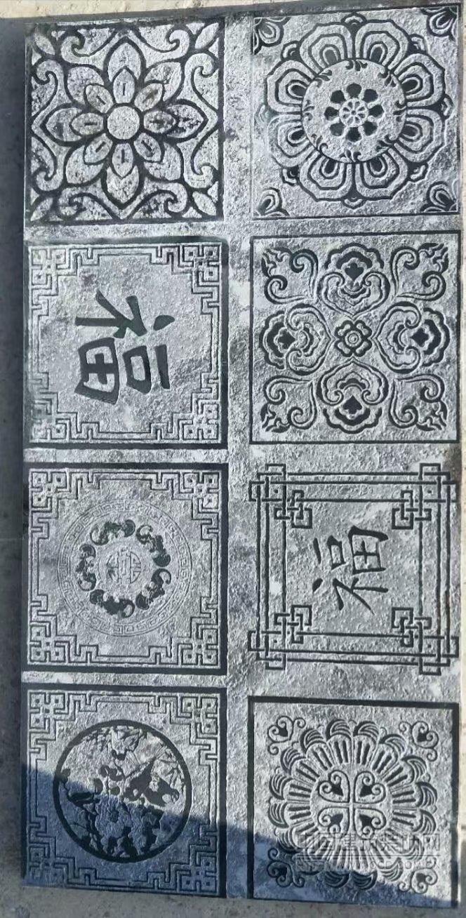 石材砖雕石材雕花砖石材浮雕