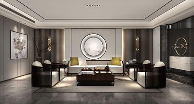 大思设计未来空间 |熙泰星级品味新中式