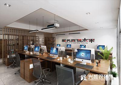 大唐总部 1号楼办公室(新中式)
