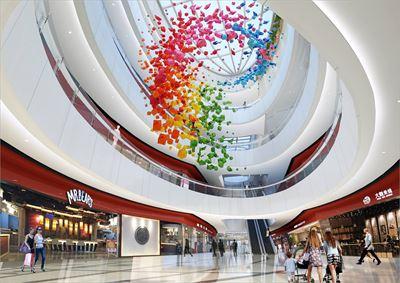 王府井购物中心设计