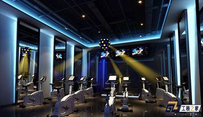 兰州动感健身房装修效果图
