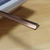 实心款304不锈钢T型装饰线条-T10