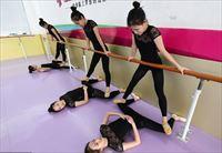 舞蹈房PVC运动地板地胶