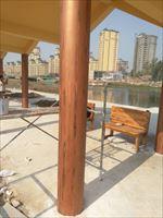 玉溪木纹漆 水泥木纹漆 在水泥墙面上面做仿木纹效果