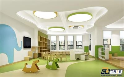 西安國際雙語幼兒園裝修案例