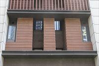番禺金龙城财富广场别墅区—纤维水泥木纹板案例