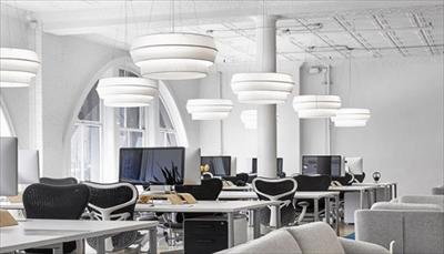 毕尔曼办公室现代时尚风设计案例