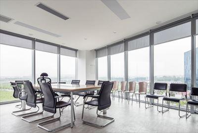 【益昌装修案例】800㎡现代风太和办公室