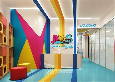 郑州开心岛儿童室内水上乐园装修案例