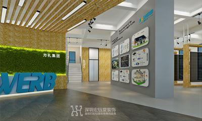 郑州方孔独栋办公楼装修案例