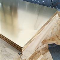 H65光面贴膜黄铜板 装饰品用黄铜板