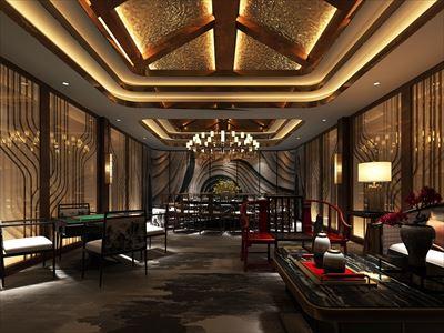 芾元居中餐廳會所設計