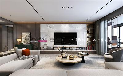碧桂園潁州府270平大平層空間設計案例